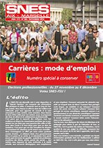 Journal académique n° 365 Septembre 2014