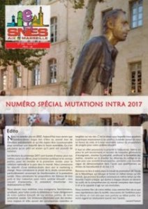 Journal Académique n°382 - Mutations Intra 2017