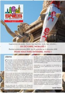 Journal académique n°390 - Octobre 2018